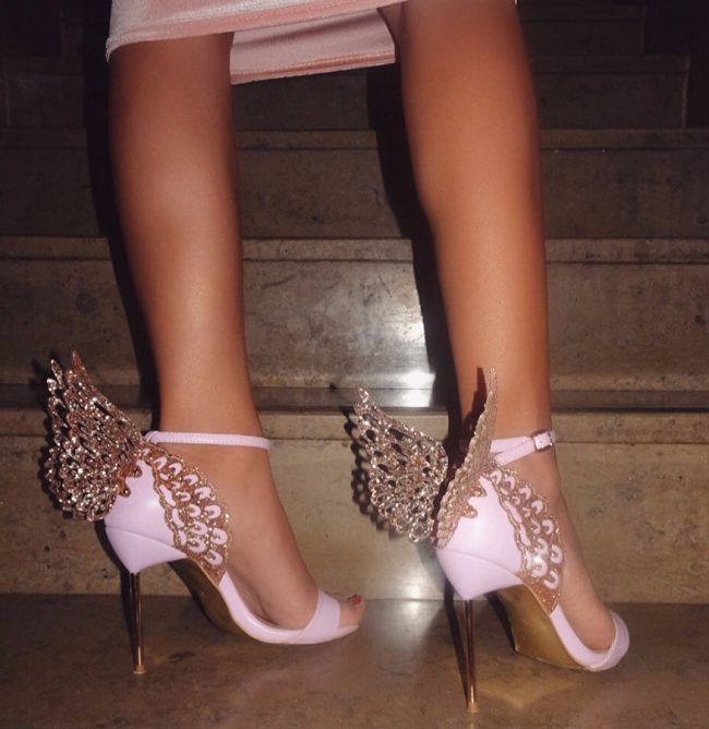 Gloria Pink Wings Sandals (3)