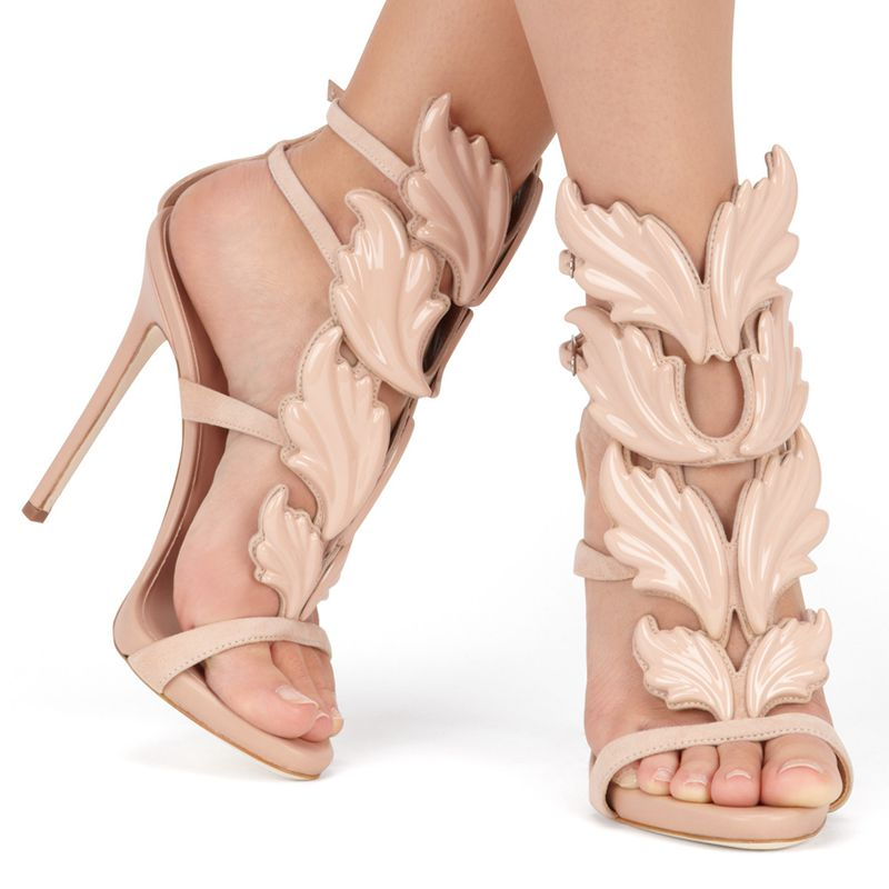 Mercy sandali in pelle nuda (4)