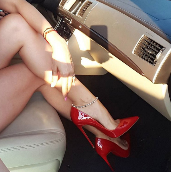 Peg Red Patent Leather Pumps (1)