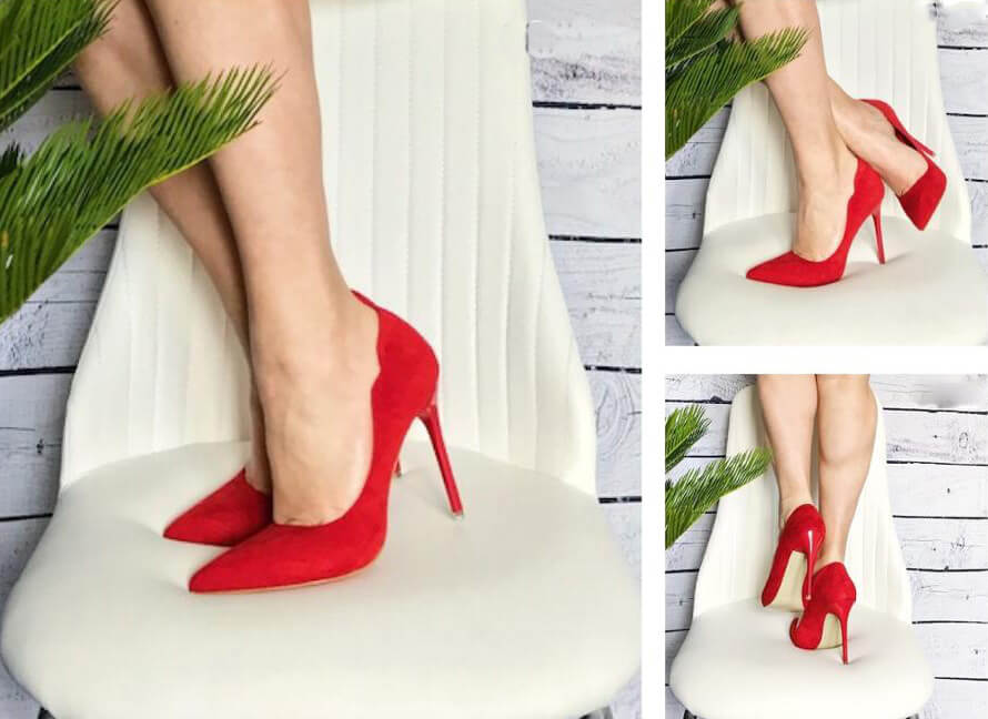 Gena Suede Pumps (1)