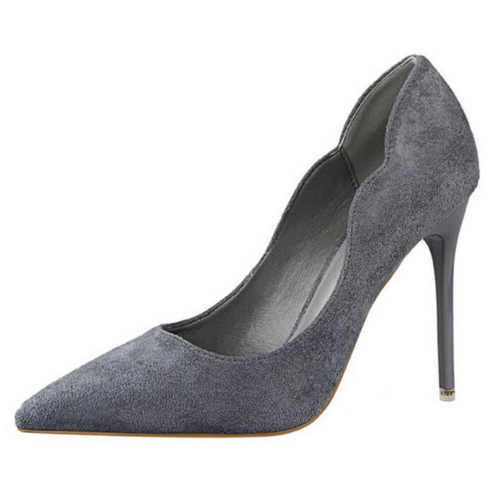 Gena Suede Pumps (12)