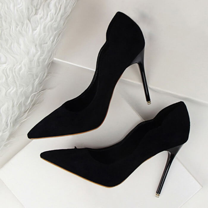 Gena Suede Pumps (2)