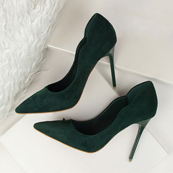 Gena Suede Pumps (5)