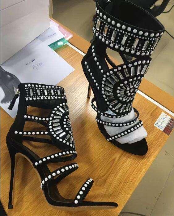 Ida cristallo design sandali 5