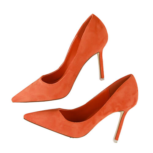 Odelia Suede Pumps (10)