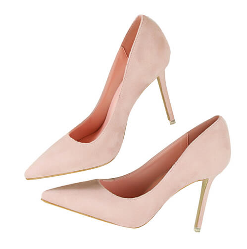 Odelia Suede Pumps (11)