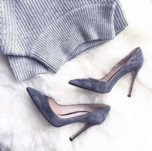 Odelia Suede Pumps (2)
