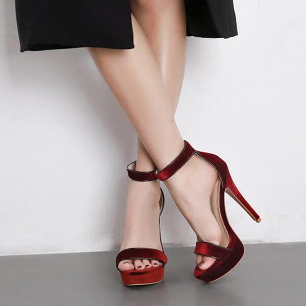 sandali di velluto di Sutton (2)
