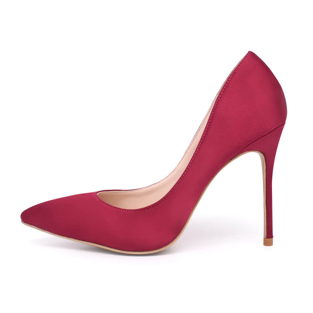 Xena-Satin-Pumps-Wine-red (2)